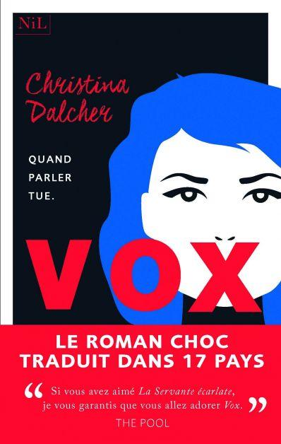 """""""Vox"""", livre de Christina Dalcher"""