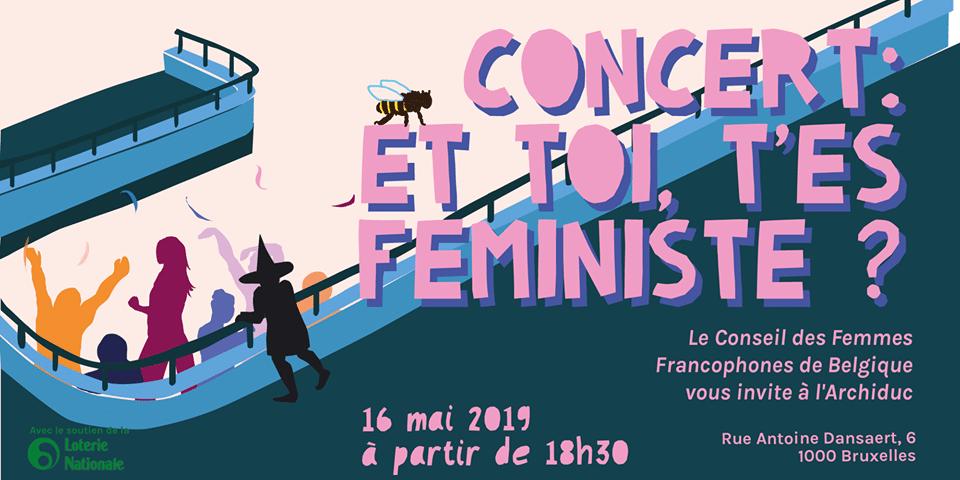affiche et toi t'es féministe