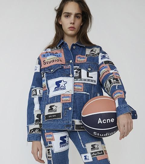 La nouvelle collab' Acne Studios célèbre le sportswear américain