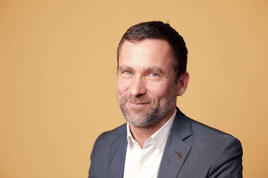 Photo portrait d'Antoine Lebrun, directeur général de WWF Belgique.