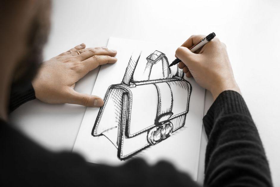 sac dior dessin 30 montaigne
