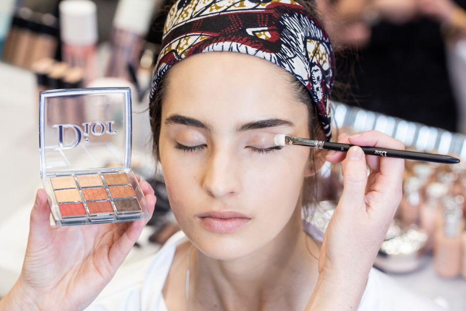 maquillage dior croisières coulisses mannequin