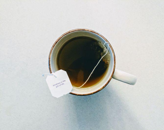 thé stress