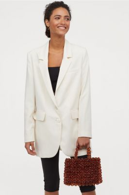 Veste de blazer oversize, H&M