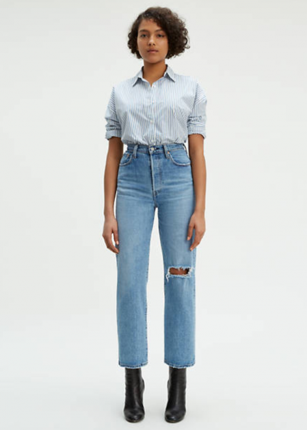 Jeans Levi's ribcage straight ankle