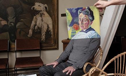 choix des tableaux expo musée comme chez soi