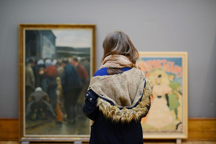 choix des tableaux du musée d'Ixelles