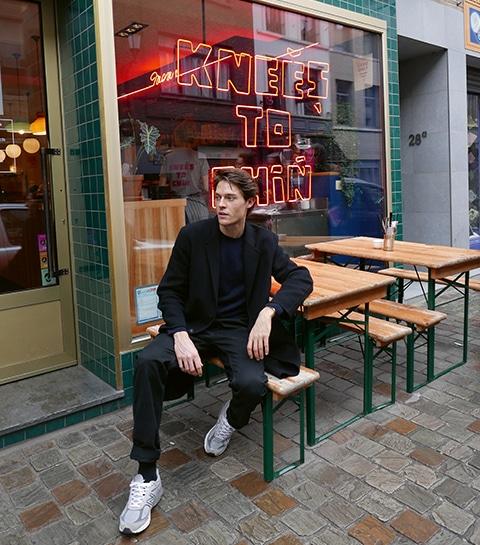 Trippin', le guide branché du mannequin belge César Casier