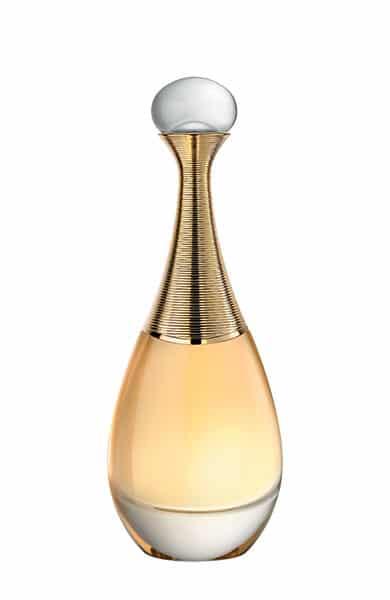 Flacon du parfum J'adore de Dior.