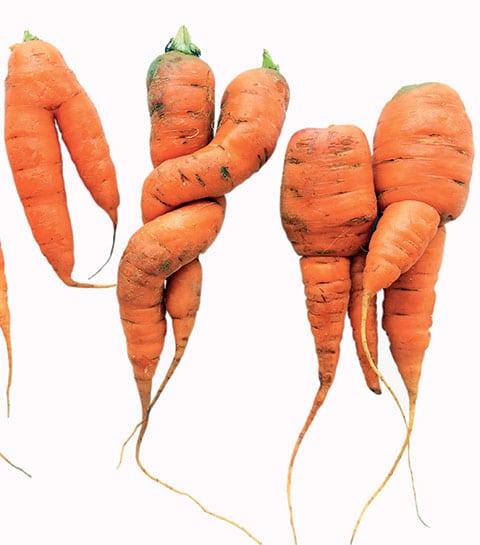 La bonne idée : des cosmétiques à base de légumes moches