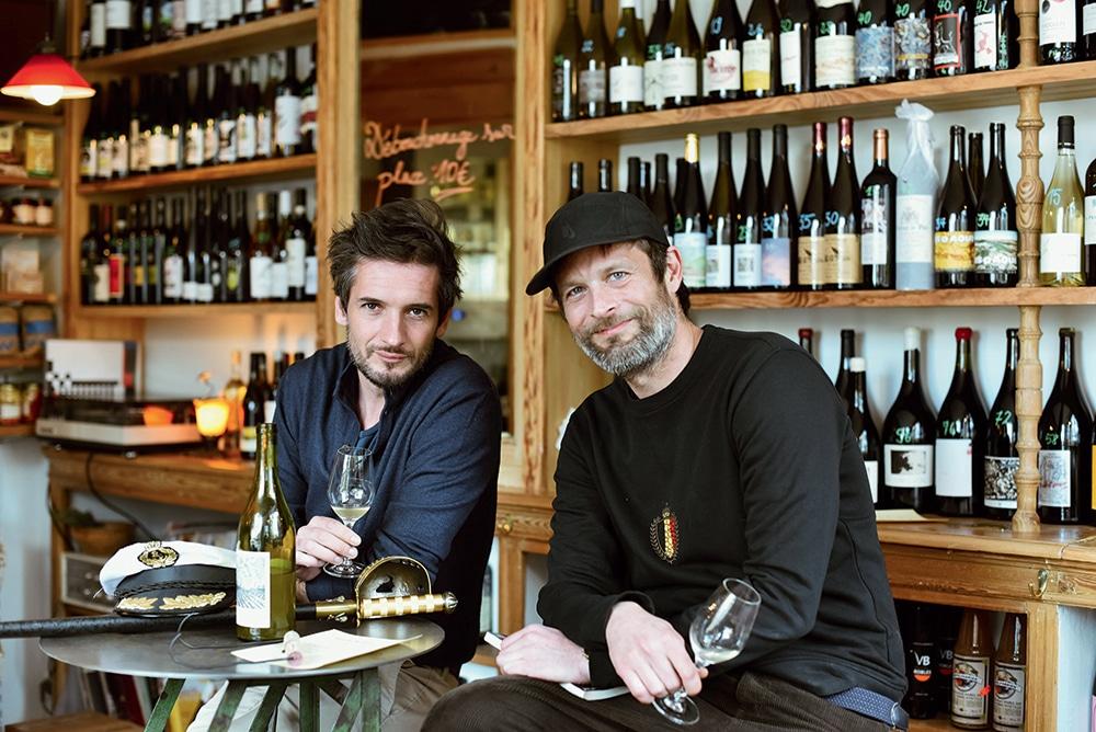 Photo de Yann et Mallo les mecs à la tête de chez Tortue