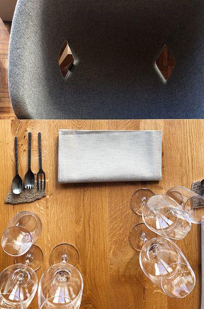 Photo du dressage d'une table chez Toshiro