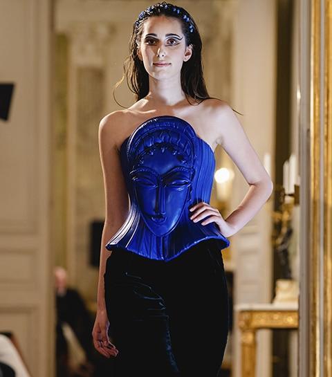 C'était comment: le défilé couture du créateur belge Bernard Depoorter ?