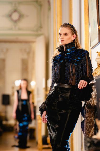 C'était comment: le défilé couture du créateur belge Bernard Depoorter ? - 1