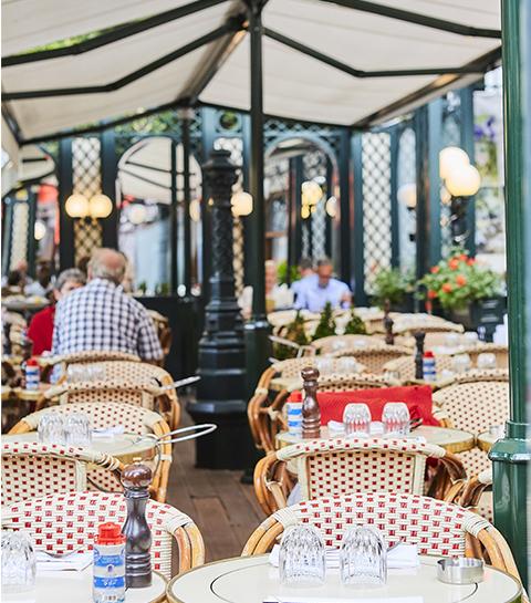 Terrasse Bruxelles Brasseries Georges