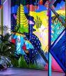 Canvas : le pop-up bar arty signé Bombay Sapphire