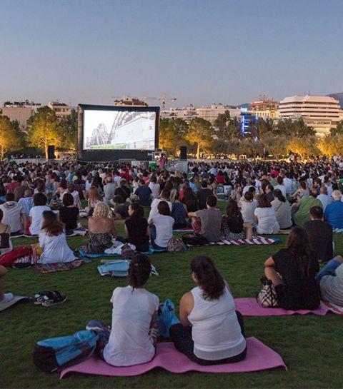 Le BRIFF organise des séances de ciné en plein air gratuites à Bruxelles cet été