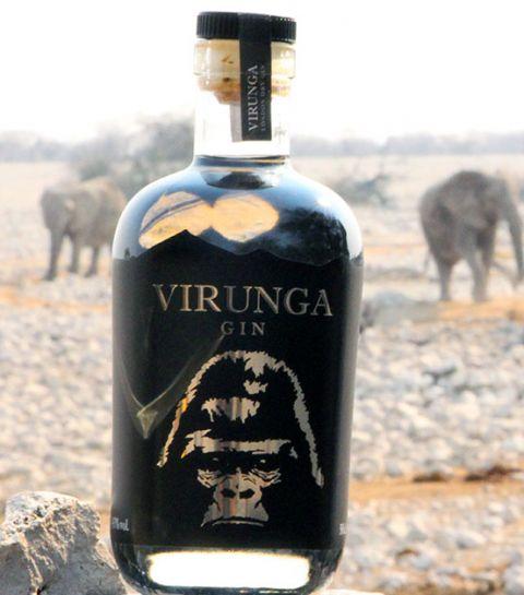 Virunga: le Gin qui aide à sauver les gorilles en voie de disparition