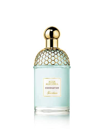 Flacon du parfum Coconut Fizz de la collection Aqua Allegoria de Guerlain.