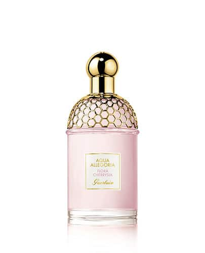 Flacon du parfum Flora Cherrysia de la collection Aqua Allegoria de Guerlain.