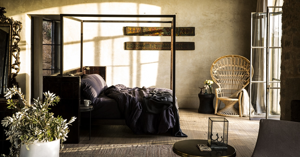 photo d'une chambre de la maison Arijiju