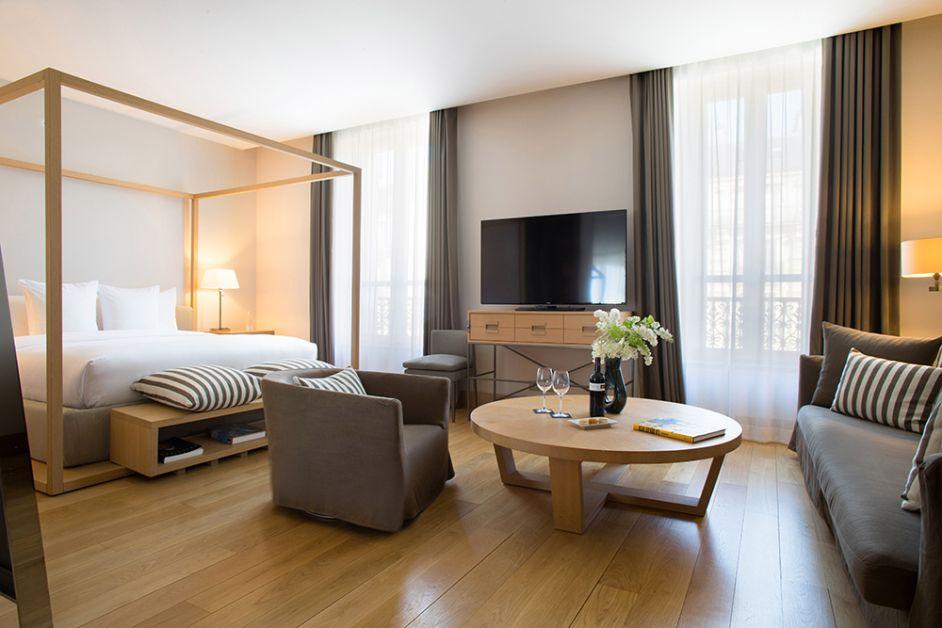 Photo de la chambre La Réserve Paris