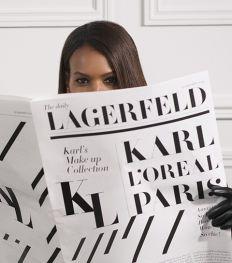 L'Oréal Paris x Karl Lagerfeld : la collab' beauté qu'il ne faut pas rater