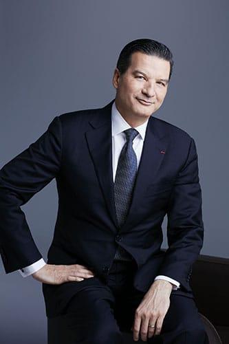 Portrait de Thierry Wasser directeur de la création des parfums de la Maison Guerlain.