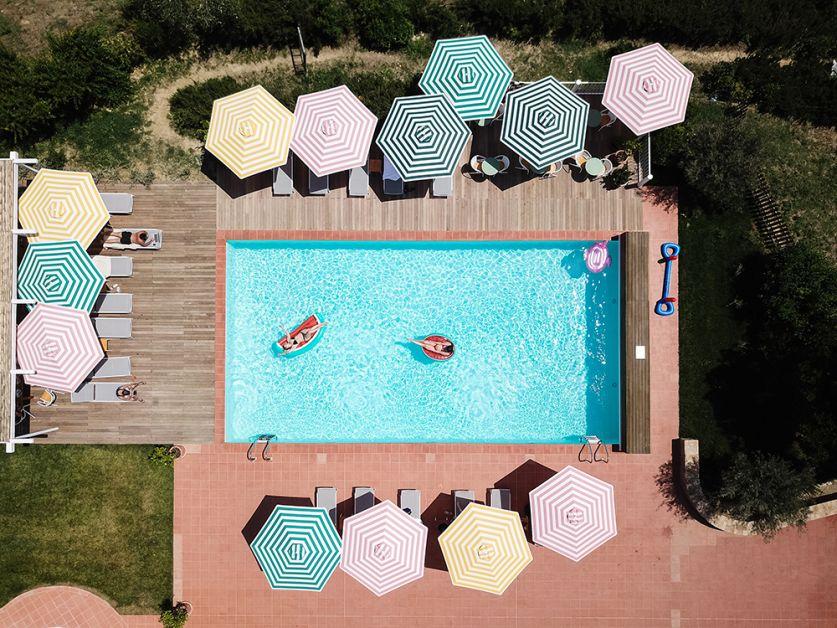 Photo de la piscine de la Villa Lena