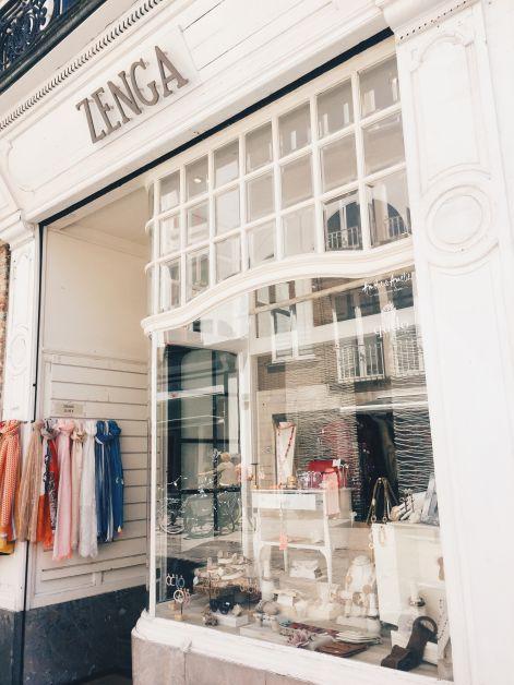 Zenga est une boutique pour femmes située à Bruges