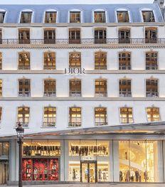 Dior dévoile une nouvelle boutique sur les Champs-Élysées