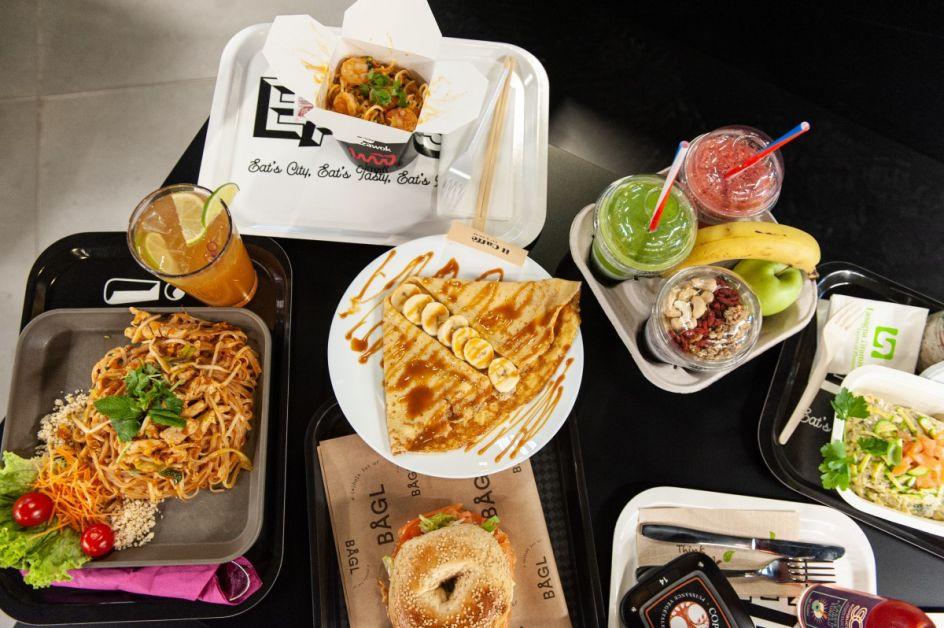 Eats propose beaucoup de variétés qui font voyager et découvrir de nouvelles saveurs culinaires