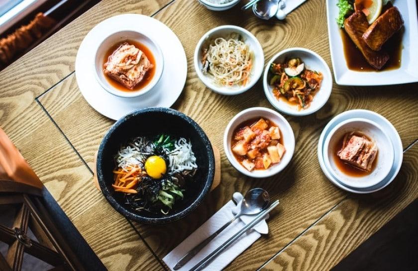 Le bibimbap est un plat traditionnel coréen