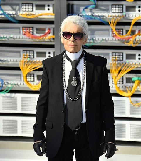 La première biographie de Lagerfeld : un Karl à part