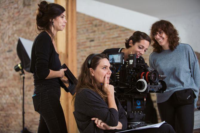 Erika Lust en tournage