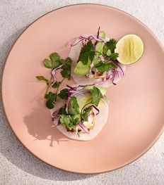 Tacos de poisson sur tortillas de jicama de Gwyneth Paltrow