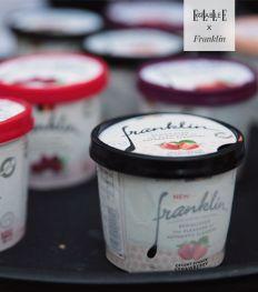 Franklin : des glaces légères pour un été gourmand