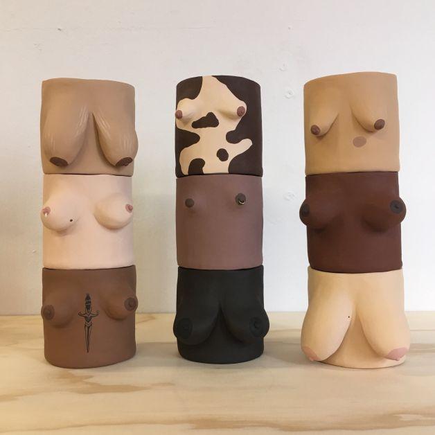 Tit Pot personnalisé seins