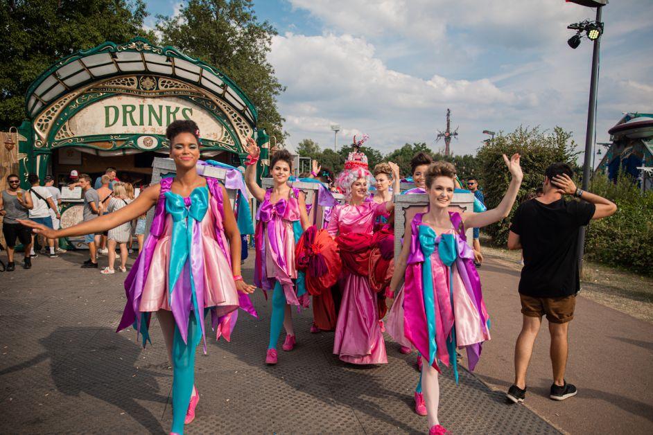 Tomorrowland parade