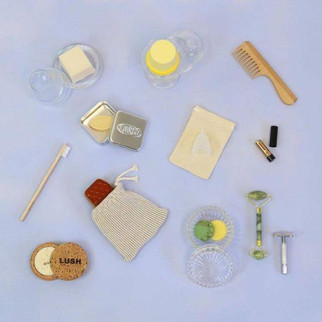 La marque Lush célèbre le Plastic Free July