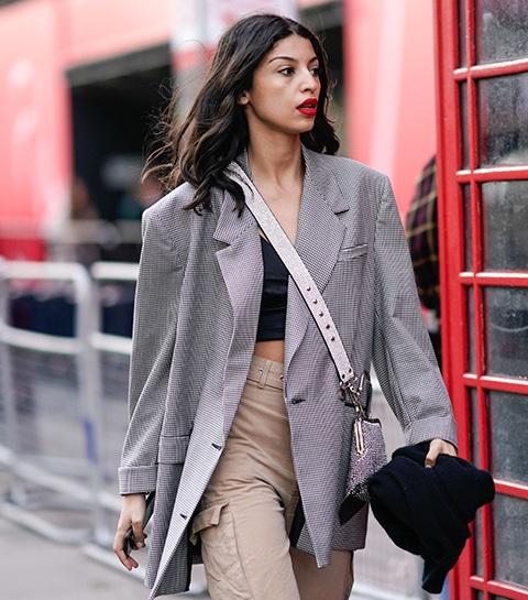 12 façons de porter le blazer oversized cet automne