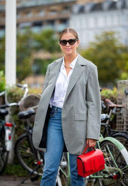 12 façons de porter le blazer oversized cet automne - 4