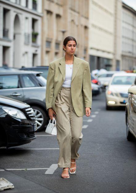 12 façons de porter le blazer oversized cet automne - 23