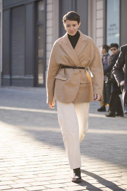 12 façons de porter le blazer oversized cet automne - 6