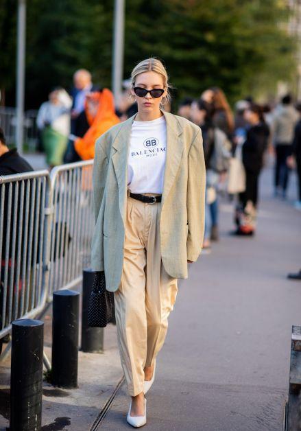 12 façons de porter le blazer oversized cet automne - 24