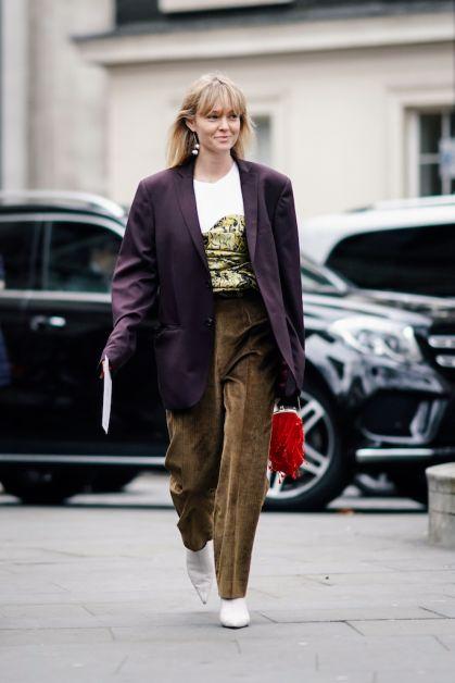 12 façons de porter le blazer oversized cet automne - 21
