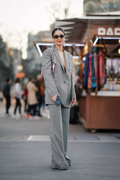 12 façons de porter le blazer oversized cet automne - 12