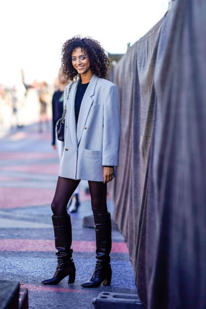 12 façons de porter le blazer oversized cet automne - 2