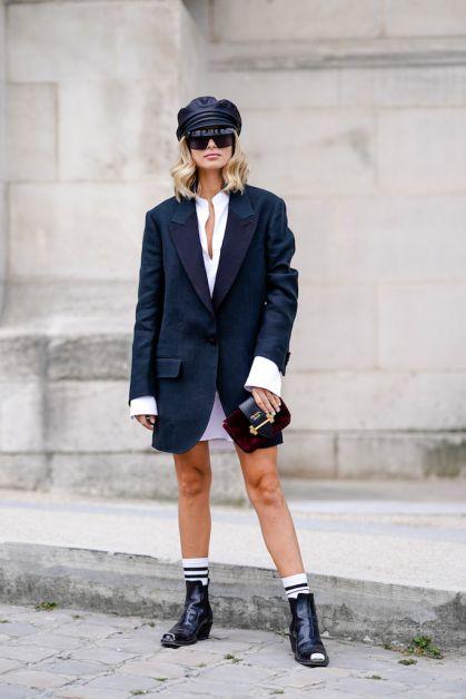 12 façons de porter le blazer oversized cet automne - 3