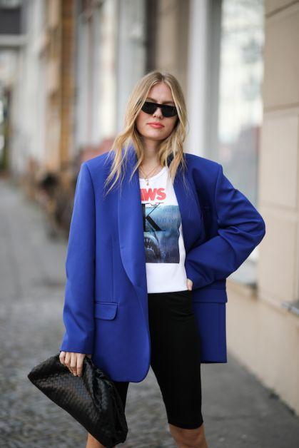 12 façons de porter le blazer oversized cet automne - 7